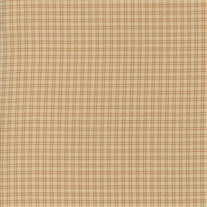 Moda Lancaster in Soft Gold Cross Hatch Fabric 0.5m