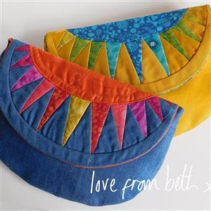 Love from Beth Sunburst Purse Sewing Pattern