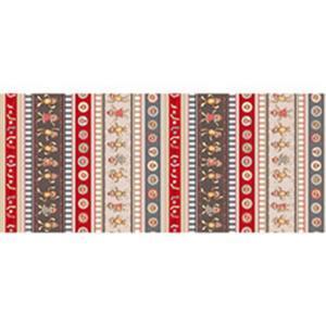 Dan Morris Monkey Biz Sock Monkey Stripe Multi Fabric 0.5m