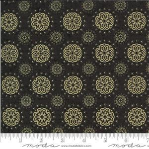Moda Maryland in Brown Star Anise Fabric 0.5m