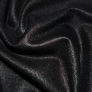 Cotton Canvas Fabric Black 0.5m