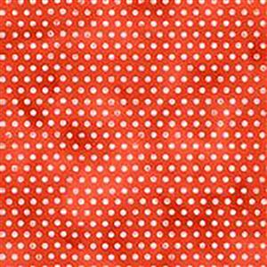 Wildflower Farm Red Spots Fabric 0.5m