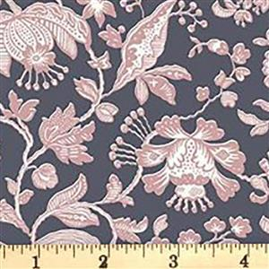 Liberty Summer House Collection in Pink Victoria Floral Fabric 0.5m