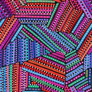 Origins Stripes & Spots Fabric 0.5m