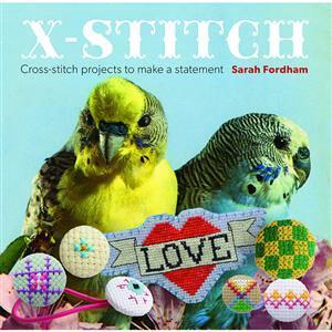 X-Stitch Book by Sarah Fordham