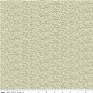 Riley Blake Tea With Bea Sand Dollar Grass Fabric 0.5m