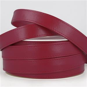 Faux Leather Webbing Burgundy 25mm (1m)