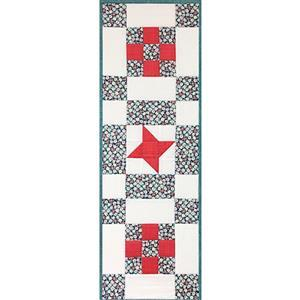 Village Fabrics Beginners Vintage Sew-A-Long Table Runner Kit