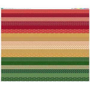 Christmas Trio Design Roll Fabric Panel 140 x 123cm