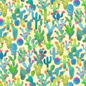 Michael Miller La Vida Loca in Cactus Fabric 0.5m