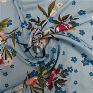 Tulip Cascade Viscose Fabric 0.5m