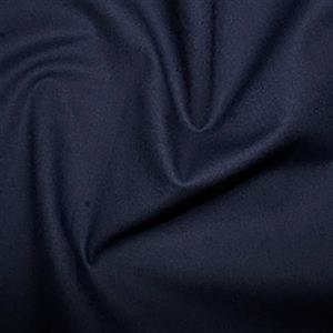 Navy 100% Cotton 0.5m