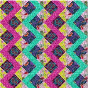 Anna Maria Horner Halfsie's Strike Quilt Kit (121 x 121cm)
