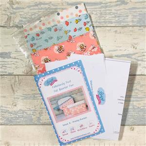 Living In Loveliness Fabulously Fast Fat Quarter Fun Issue 8 Riley Blake Option 2
