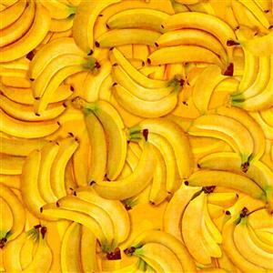 Dan Morris Fresh Banana Fabric 0.5m