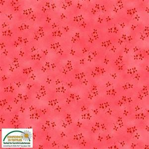 Stof Quilters Co-Ordinates Blush Flowers Fabric 0.5m