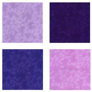 Purple Mixer Childrens Fat Quarter Skirt Bundle: Fabric (2m)