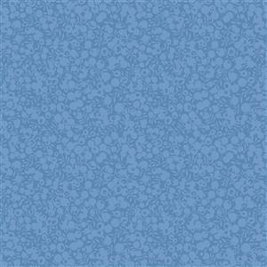 Liberty Wiltshire Shadow Collection Lake Blue Fabric 0.5m