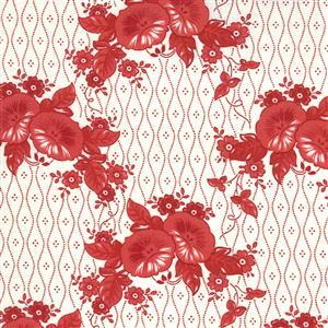 Moda Roselyn in Stripey Rose Fabric 0.5m