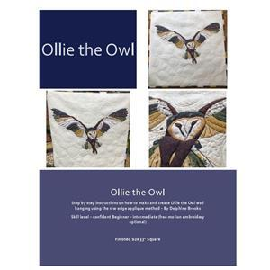 Delphine Brooks' Owl Applique Wall Hanging Instructions