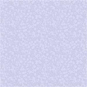 Liberty Wiltshire Shadow Collection Dusky Blue Fabric 0.5m