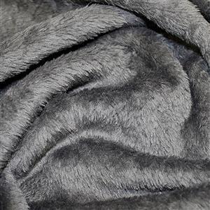 Dark Grey Supersoft Fleece Fabric 0.5m