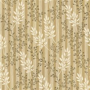 Wildflower Woods in Beige Wheat Fabric 0.5m
