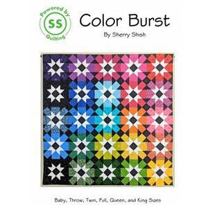 Colour Burst Quilt Pattern