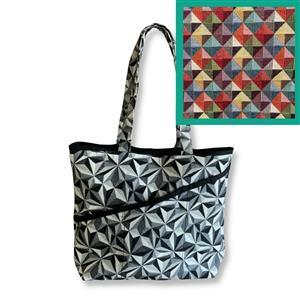 The Crafty Co Holland Tapestry Shopper Bag Kit: Instructions & Fabric (1m)