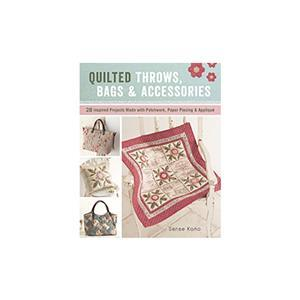 Quilted Throws, Bags & Accessories Book by Sanae Kono