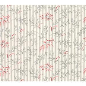 Moda Daybreak Fronds on Silver Fabric 0.5m