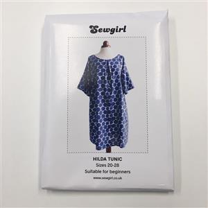 Sewgirl Hilda Tunic Sewing Pattern Size 20 - 28