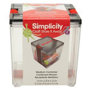 Simplicity Medium Storage Container.9.2cm x 9.6cm x 9.2cm