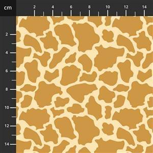 Henry Glass Wild & Free Giraffe Print Fabric 0.5m