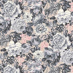 Liberty Emporium Collection Tudor Wild Bloom Pastels Fabric 0.5m