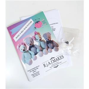 Becky Alexander Frost Maisie & Milo Bear Pattern Pack with Eyes & Joints