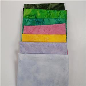 Fresh Spring Hoffman Bali Hand-Dyed Batik Fabric Bundle (3.5m)