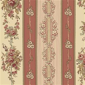 Wildflower Woods in Royal Pink Floral Fabric 0.5m