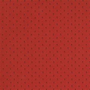 Moda Ladies Legacy in Red Spotted Fabric 0.5m