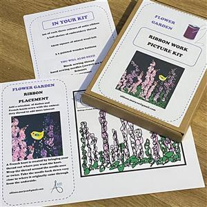 Allison Maryon's Flower Garden Ribbon Art Kit