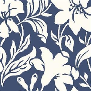 Liberty Hesketh House Collection in Blue Day Lily Fabric 0.5m