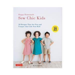 Happy Homemade Sew Chic Kids Book by Ruriko Yamada