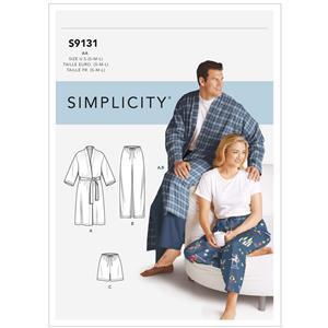 Unisex Sleepwear Pattern - Sizes S-L. Save £2.00