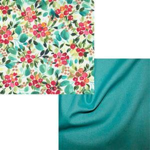 Moda Floral & Jade Fabri Bundle (1m)