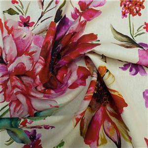 Heavenly Garden Viscose Fabric 0.5m