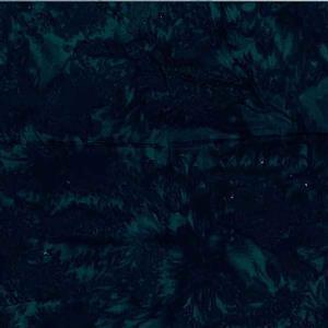 Bali Hand Dyed Dark Green Fabric 0.5m