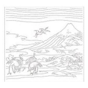 Hana-fukin Birds Ukiyoe White Fabric Pack