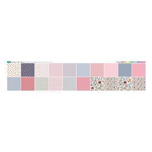 Ditsy Bitsy Fabric Squares Panel 140 x 30cm Exclusive