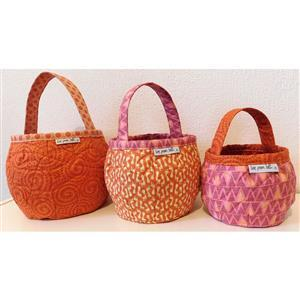 Love from Beth Pumpkin Bags Sewing Pattern