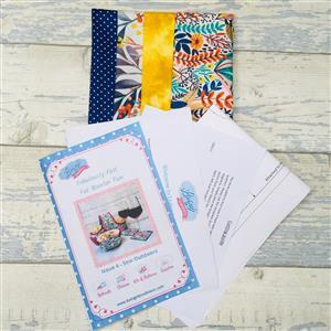 Living in Loveliness Fabulously Fast Fat Quarter Fun - Issue 4 - Sew Outdoors - Brights